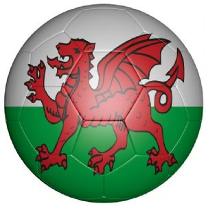 Wales Football Flag 58mm Bottle Opener